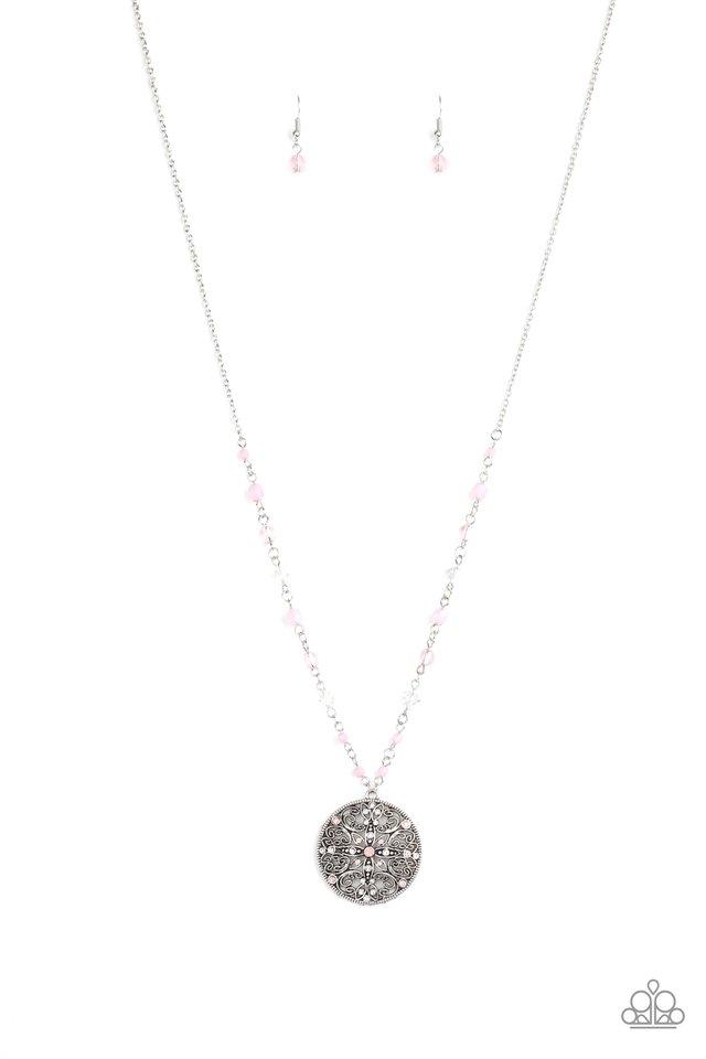 Everyday Enchantment - Pink - Paparazzi Necklace Image