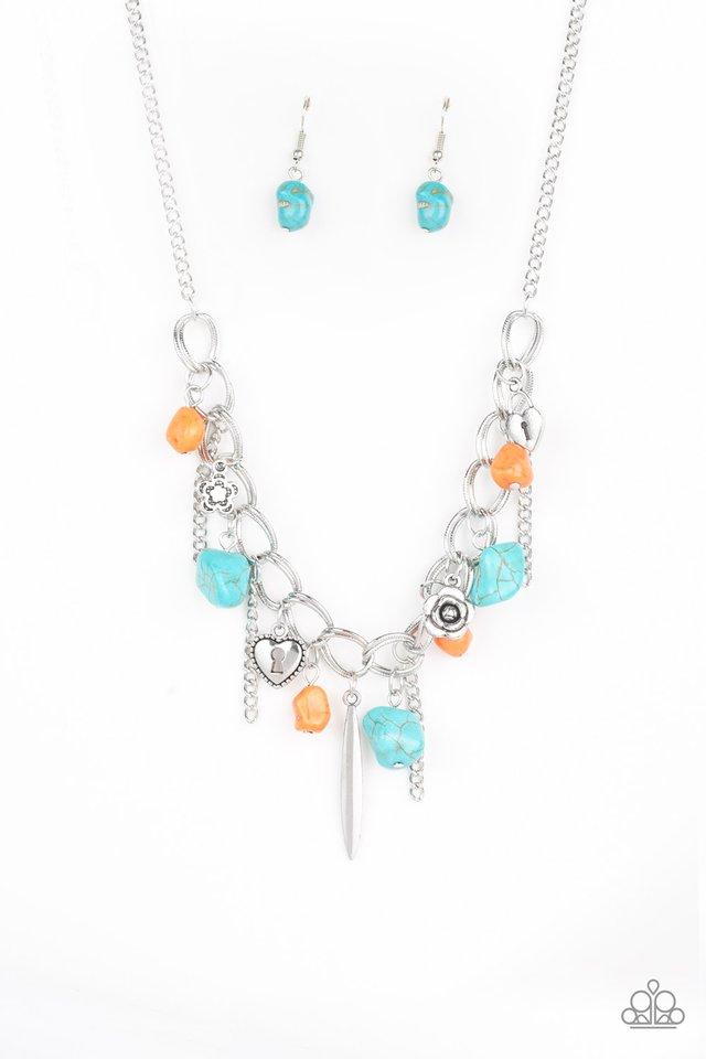 Southern Sweetheart - Multi - Paparazzi Necklace Image