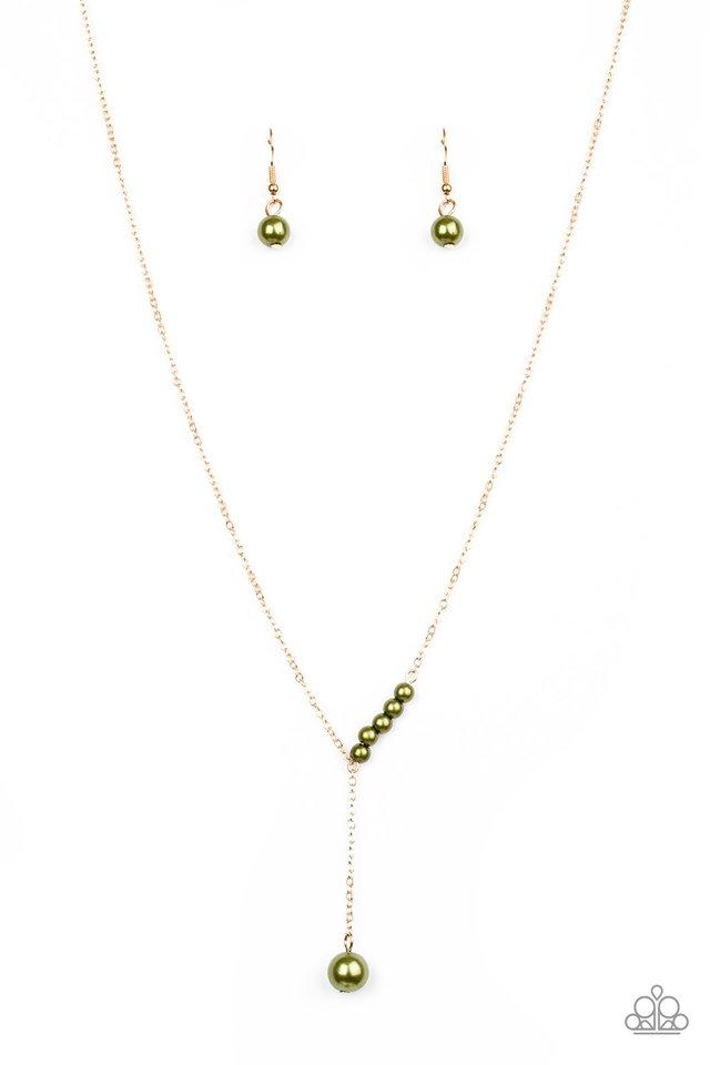 Timeless Taste - Green - Paparazzi Necklace Image