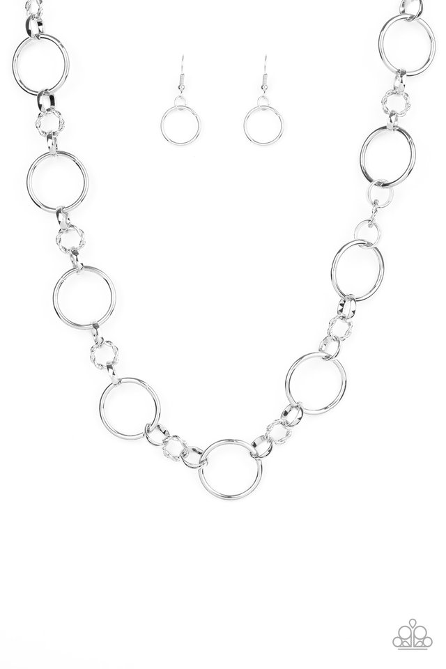 Classic Combo - Silver - Paparazzi Necklace Image