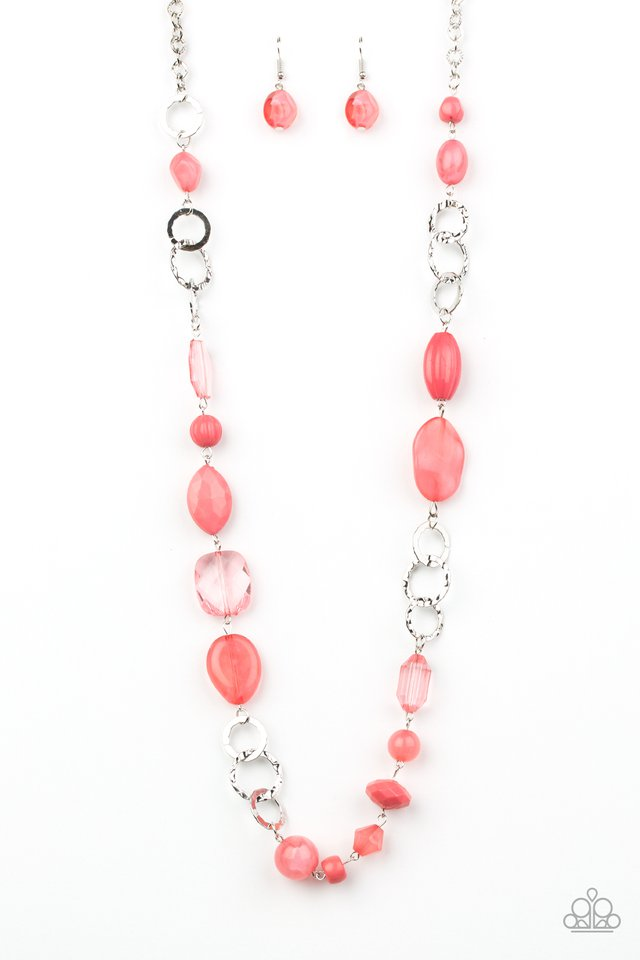 Prismatic Paradise - Pink - Paparazzi Necklace Image