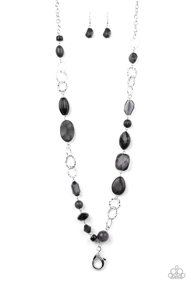 Prismatic Paradise - Black - Paparazzi Necklace Image