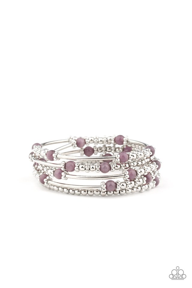 Colorful Charisma - Purple - Paparazzi Bracelet Image
