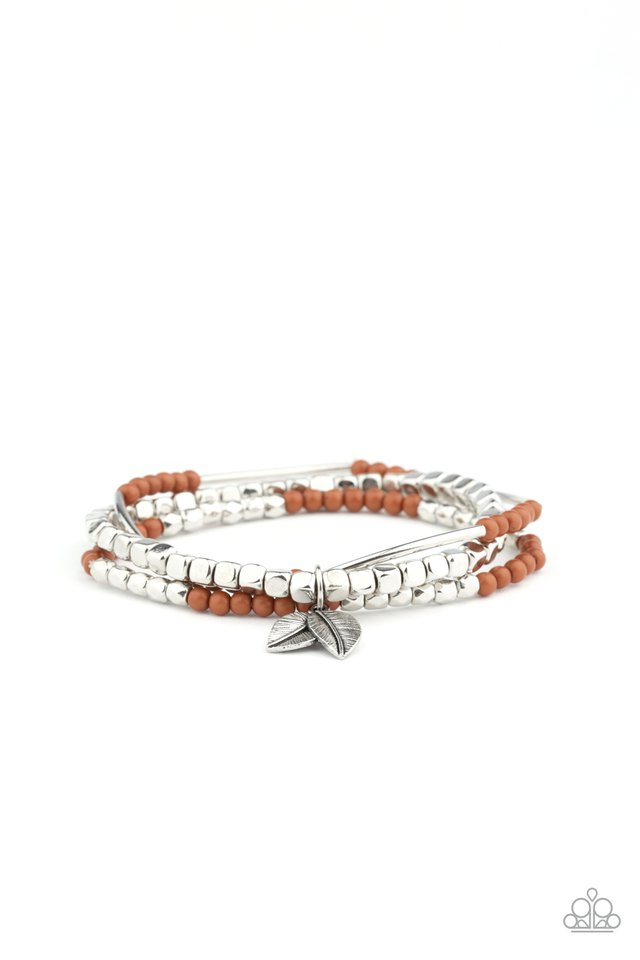 Desert Wanderer - Brown - Paparazzi Bracelet Image