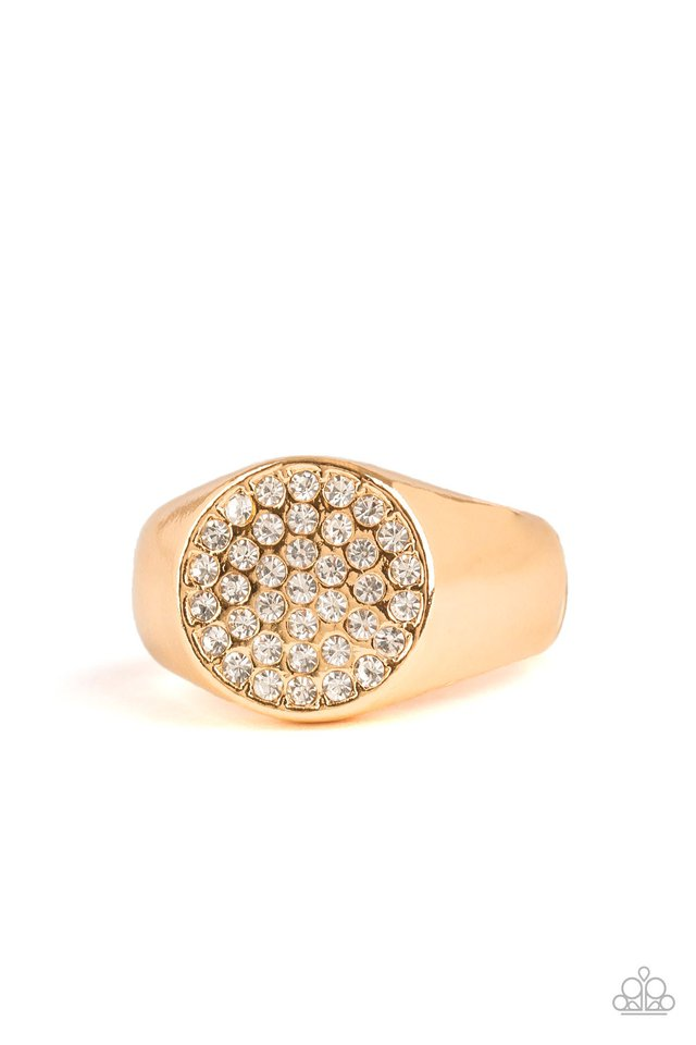 Conquest - Gold - Paparazzi Ring Image