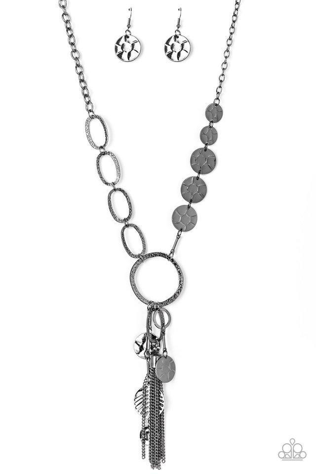 Trinket Trend - Black - Paparazzi Necklace Image