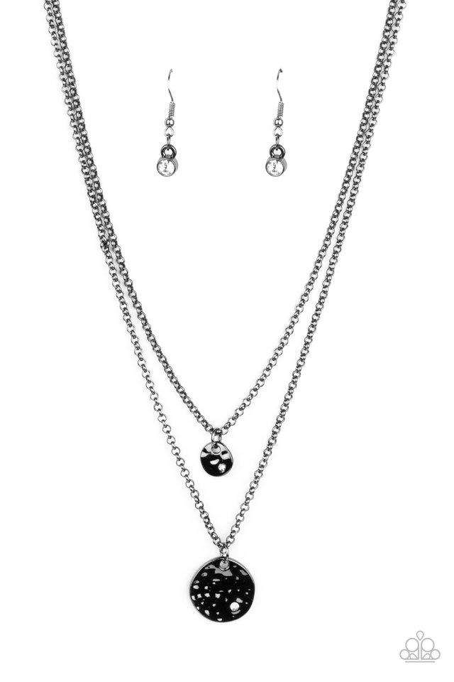 Modern Minimalist - Black - Paparazzi Necklace Image
