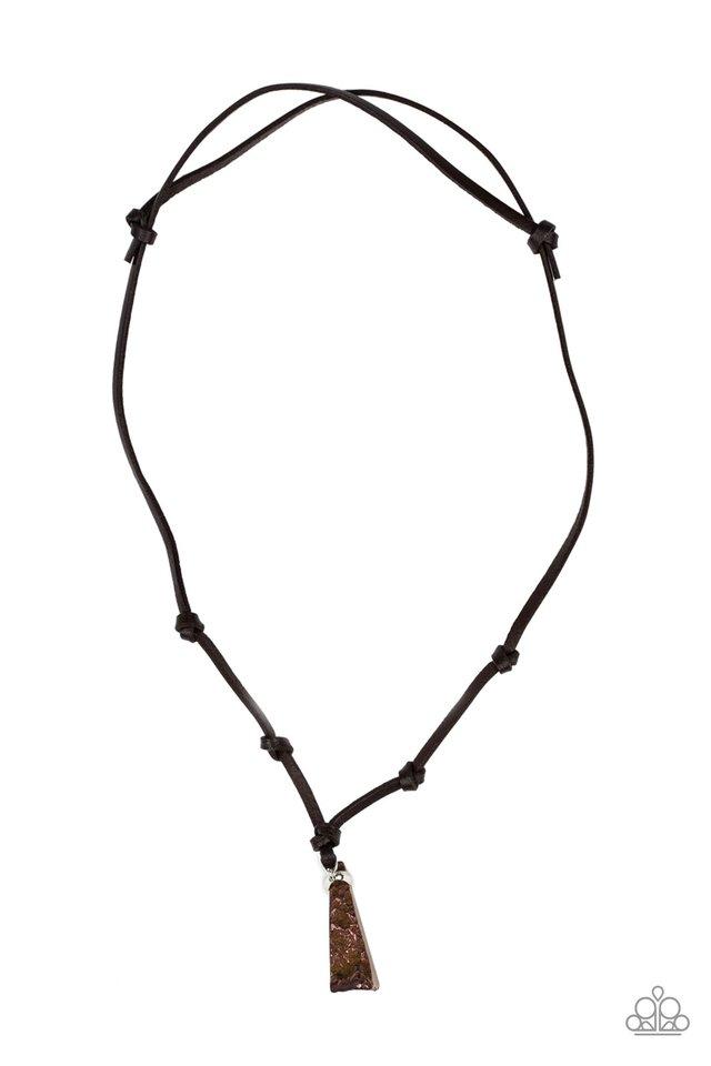 Magnetism - Copper - Paparazzi Necklace Image