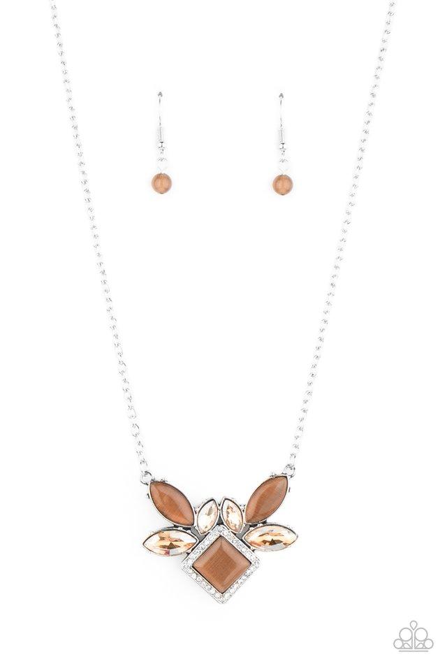 Amulet Avenue - Brown - Paparazzi Necklace Image