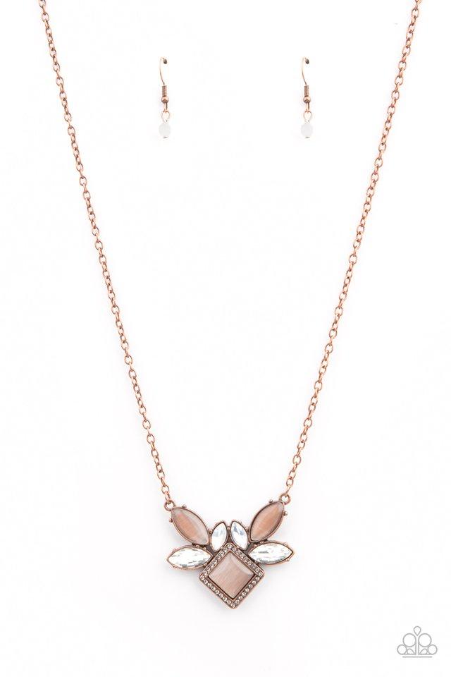 Amulet Avenue - Copper - Paparazzi Necklace Image