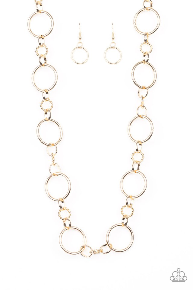 Classic Combo - Gold - Paparazzi Necklace Image