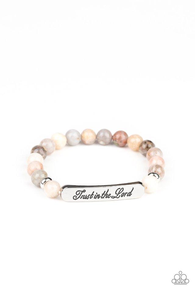 Keep The Trust - Multi - Paparazzi Bracelet Image