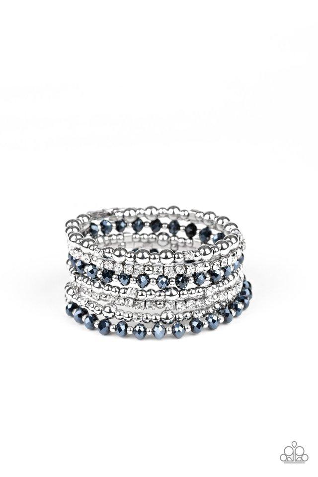 ICE Knowing You - Blue - Paparazzi Bracelet Image