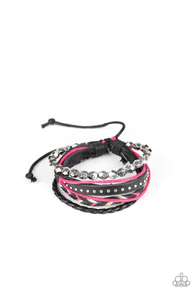 Wonderfully Wayfarer - Pink - Paparazzi Bracelet Image