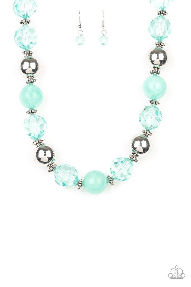 Very Voluminous - Green - Paparazzi Necklace Image