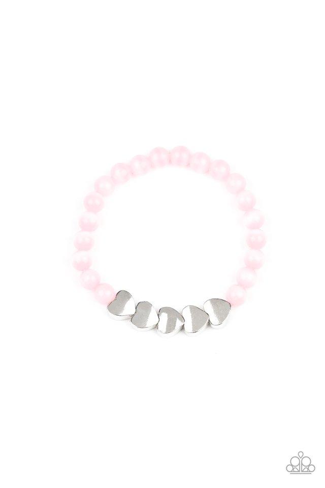 Heart-Melting Glow - Pink - Paparazzi Bracelet Image