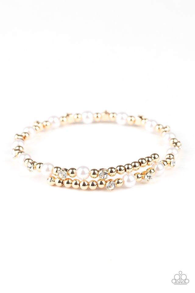 Decadently Dainty - Gold - Paparazzi Bracelet Image