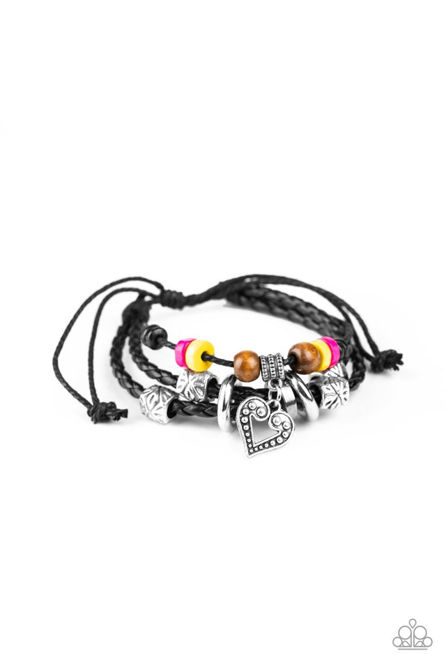 Highlands Heart - Multi - Paparazzi Bracelet Image