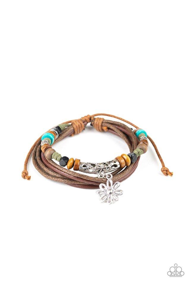 Wild Plains - Green - Paparazzi Bracelet Image