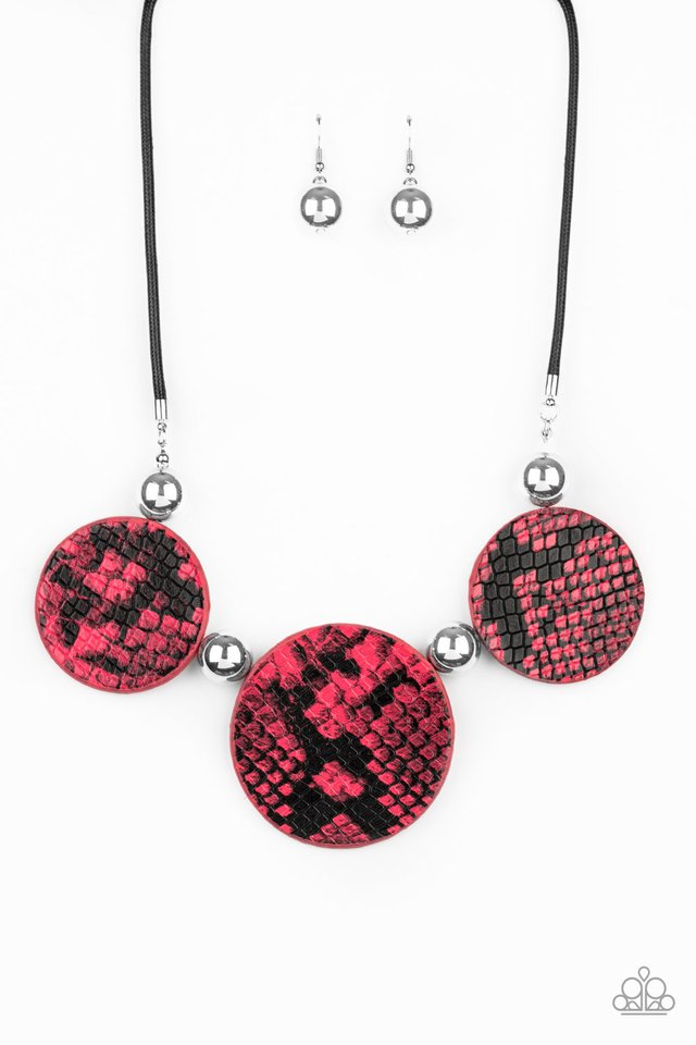 Viper Pit - Pink - Paparazzi Necklace Image