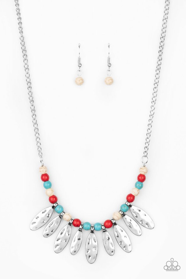 Neutral TERRA-tory - Multi - Paparazzi Necklace Image