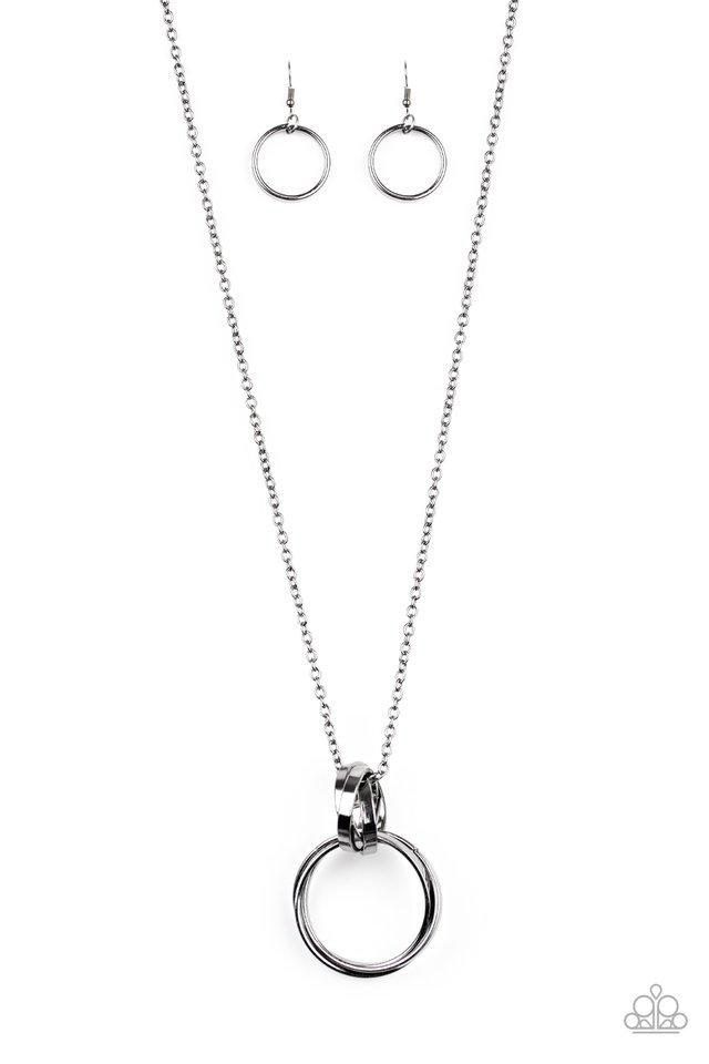 Innovated Idol - Black - Paparazzi Necklace Image