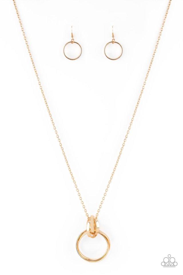 Innovated Idol - Gold - Paparazzi Necklace Image
