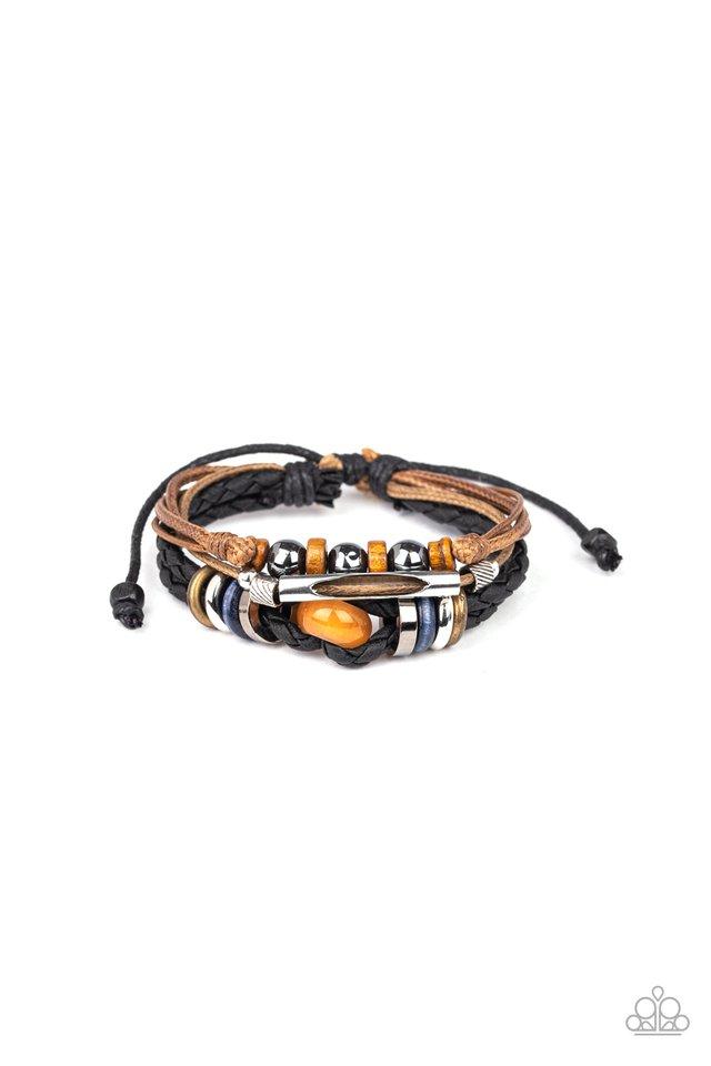 Wander More - Orange - Paparazzi Bracelet Image