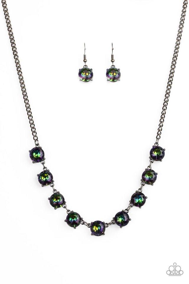Iridescent Icing - Multi - Paparazzi Necklace Image