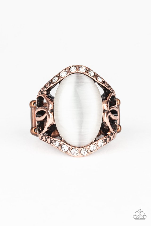 DEW Onto Others - Copper - Paparazzi Ring Image