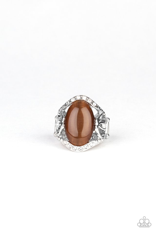 DEW Onto Others - Brown - Paparazzi Ring Image