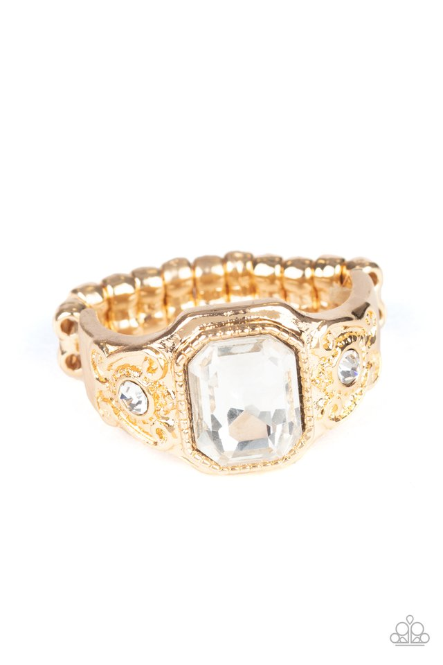 Out For The COUNTESS - Gold - Paparazzi Ring Image
