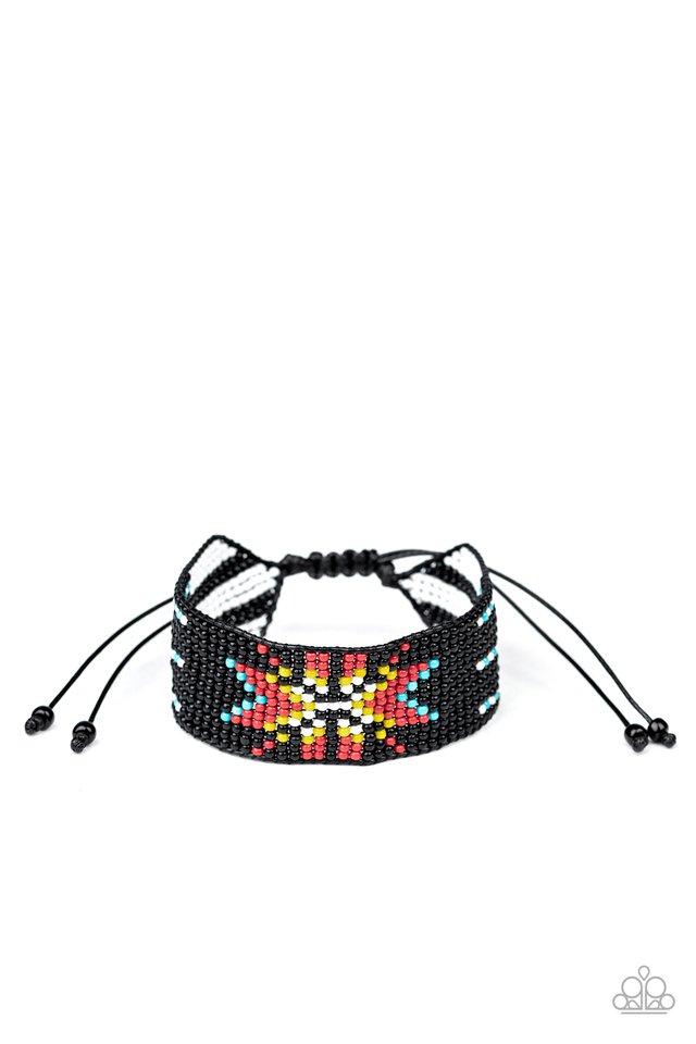Beaded Badlands - Multi - Paparazzi Bracelet Image