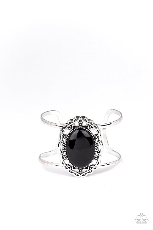 Vibrantly Vibrant - Black - Paparazzi Bracelet Image