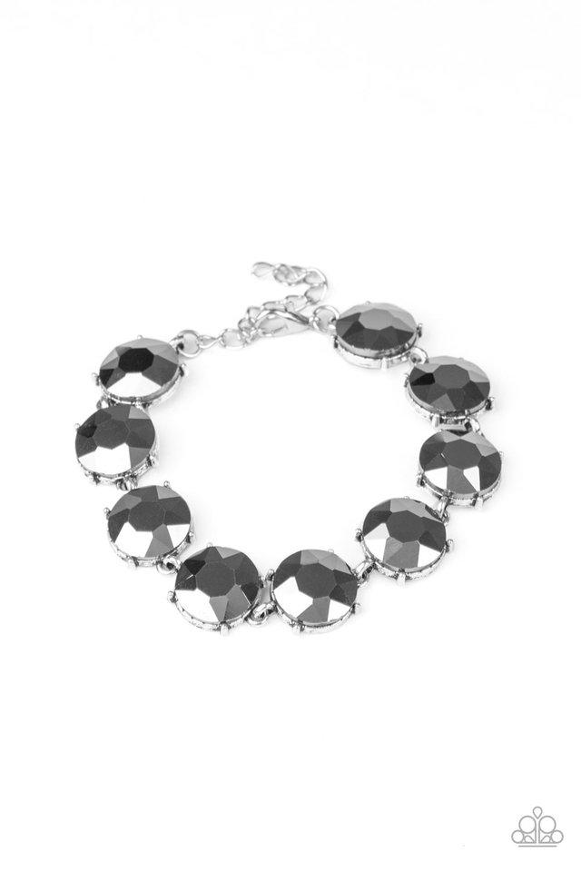 Fabulously Flashy - Silver - Paparazzi Bracelet Image
