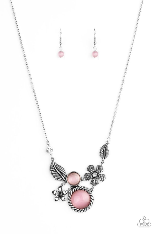 Exquisitely Eden - Pink - Paparazzi Necklace Image