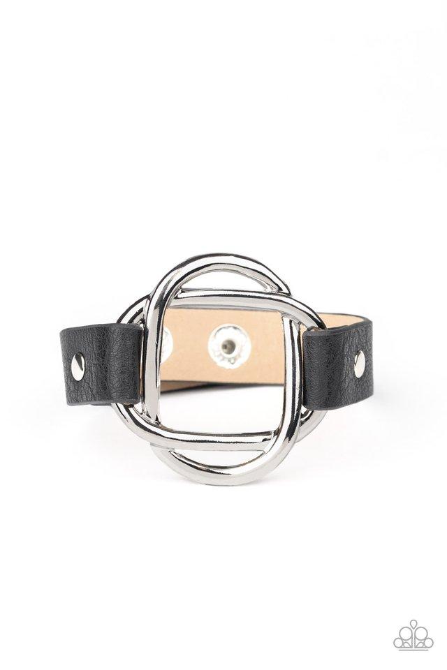 Nautically Knotted - Black - Paparazzi Bracelet Image