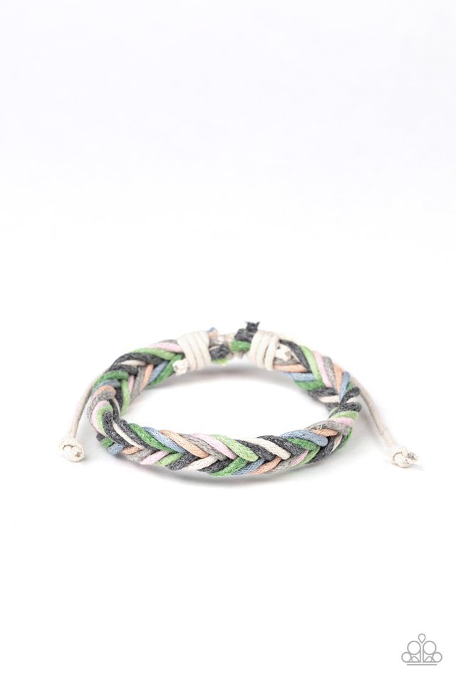 WEAVE It Be - Multi - Paparazzi Bracelet Image