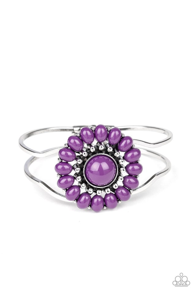 Posy Pop - Purple - Paparazzi Bracelet Image