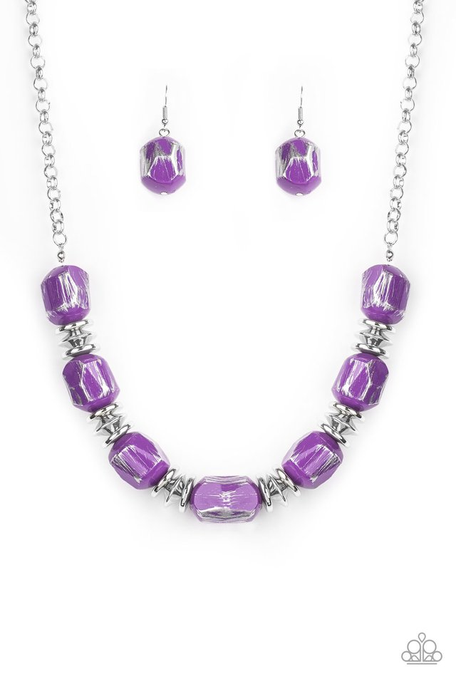 Girl Grit - Purple - Paparazzi Necklace Image