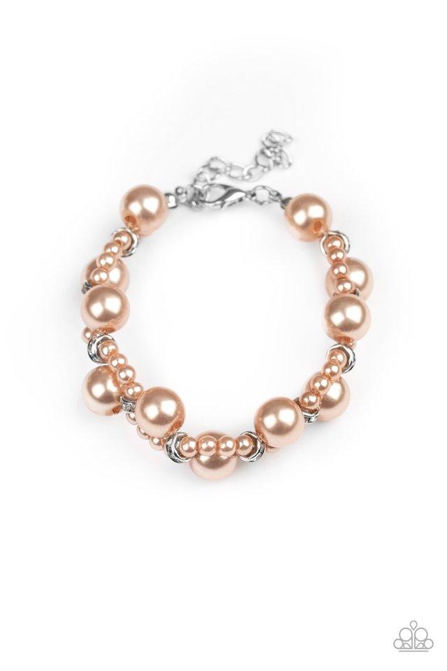 Utmost Uptown - Brown - Paparazzi Bracelet Image