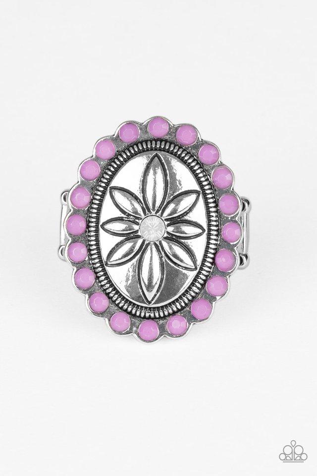 Garden Paradise - Purple - Paparazzi Ring Image