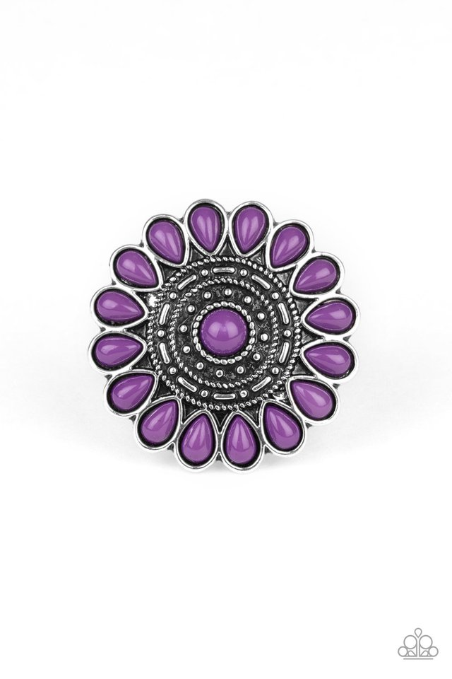 Posy Paradise - Purple - Paparazzi Ring Image