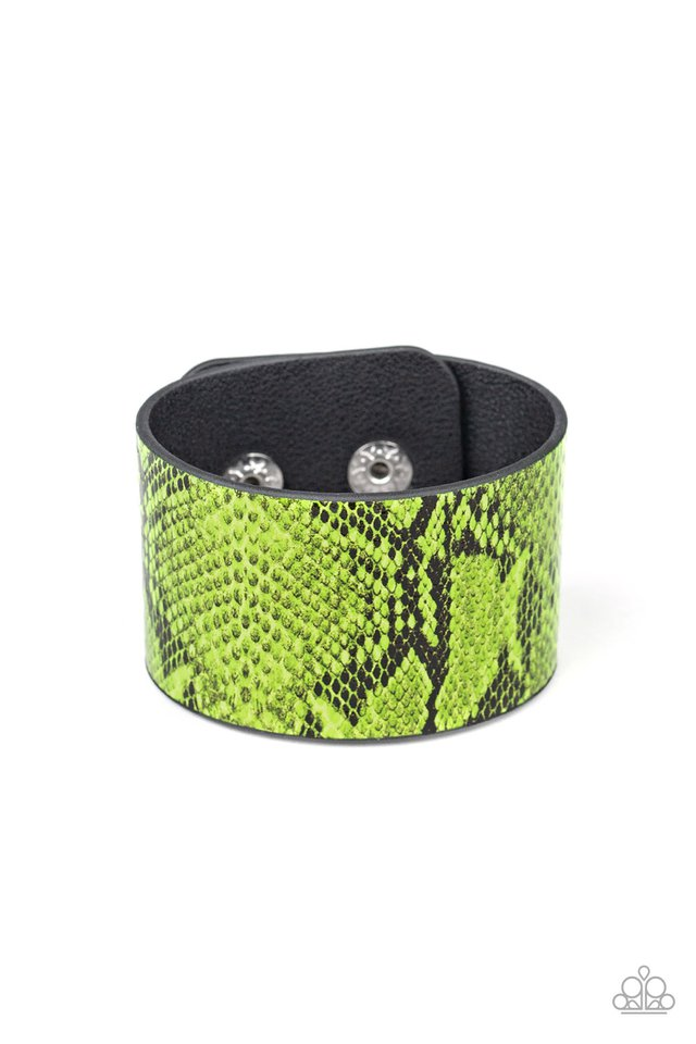 Its a Jungle Out There - Green - Paparazzi Bracelet Image
