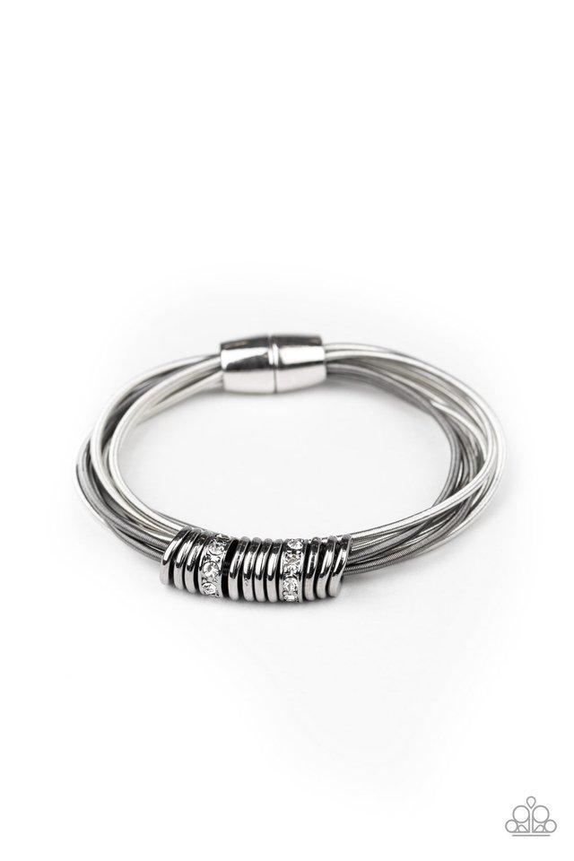 Magnetically Metro - Multi - Paparazzi Bracelet Image