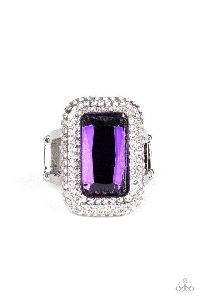 A Grand STATEMENT-MAKER - Purple - Paparazzi Ring Image