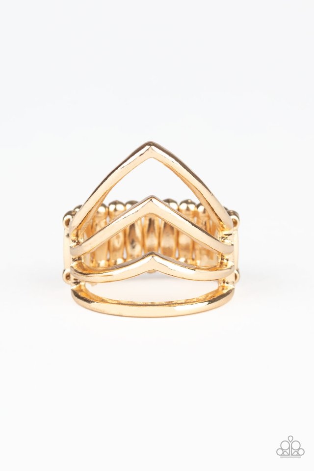 The Main Point - Gold - Paparazzi Ring Image