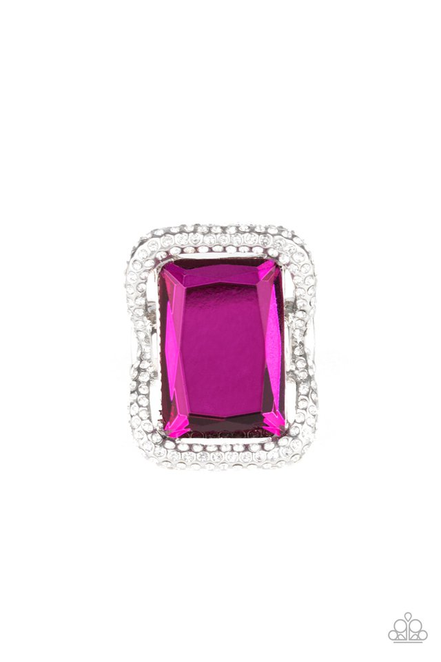 Deluxe Decadence - Pink - Paparazzi Ring Image