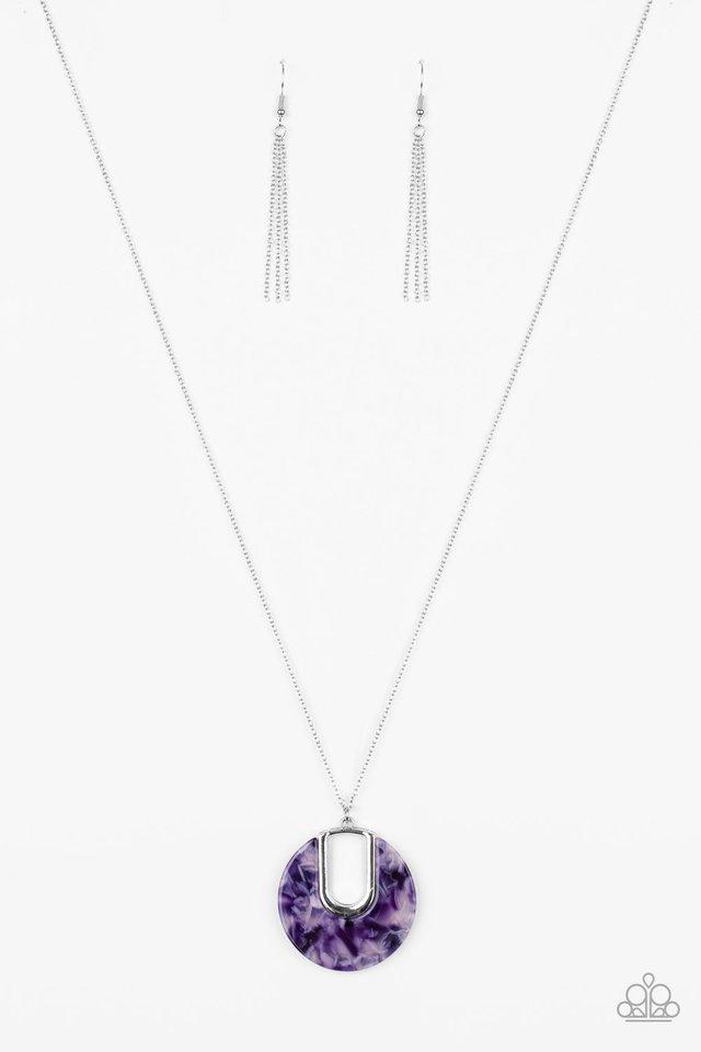 Setting The Fashion - Purple - Paparazzi Necklace Image