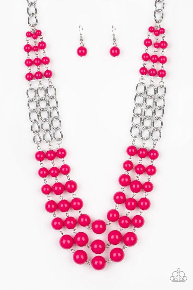 A La Vogue - Pink - Paparazzi Necklace Image